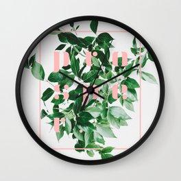 Prosper || #society6 #decor #buyart Wall Clock
