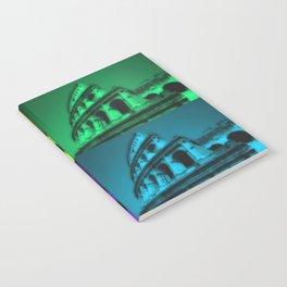 Colosseum pop art style Notebook