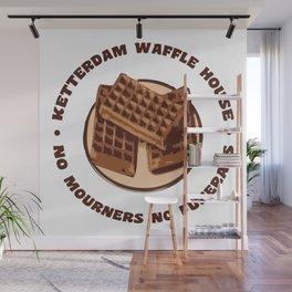 Ketterdam Waffle House Wall Mural