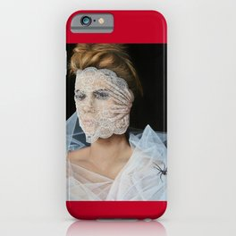 The White Widow iPhone Case