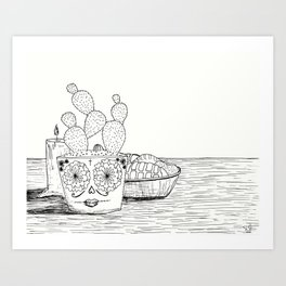 Memoria Art Print