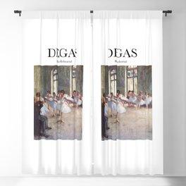 Degas - Ballet Rehearsal Blackout Curtain