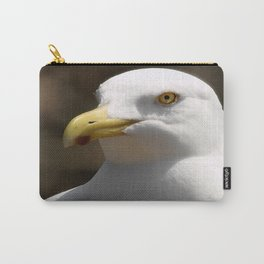 Gull Portrait 2 photography Carry-All Pouch