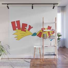 Hey Arnold Wall Mural