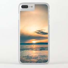 Walking In Circles Clear iPhone Case