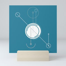Schema Drawing: Minimalist Mini Art Print