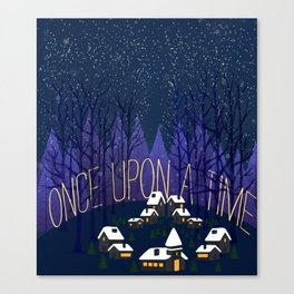 Once Upon a Time In Storybrooke Canvas Print