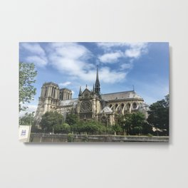 Paris, France - Notre Dame Metal Print