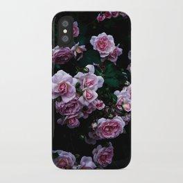 rose in the dark 02 iPhone Case