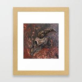 Underworld King Framed Art Print