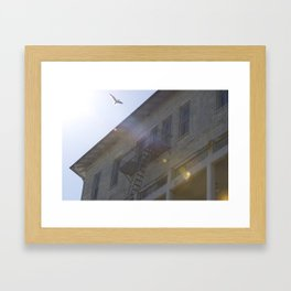 Grace over Alcatraz - San Francisco, CA  Framed Art Print