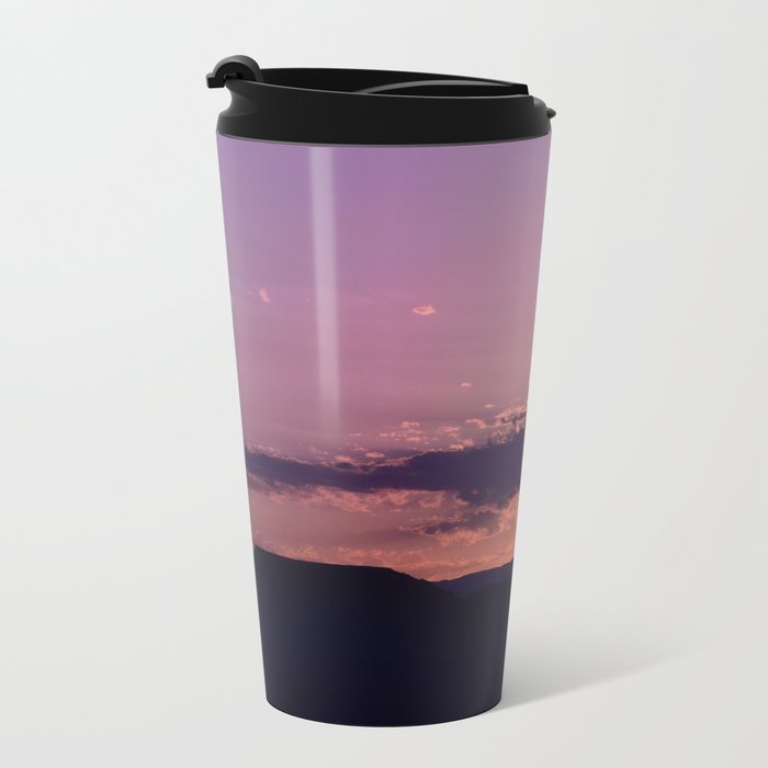 Southwest Sunrise - III Metal Travel Mug