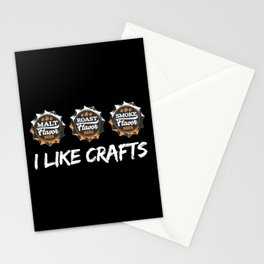 I Like Crafts | Beer Brewer Brewery Stationery Cards