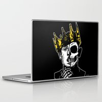 kendrick lamar Laptop & iPad Skins featuring King Kendrick by zombieCraig by zombieCraig