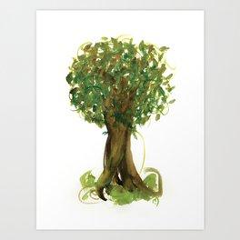 The Fortune Tree #4 Art Print