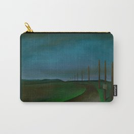 Lost On A Dark Highway Carry-All Pouch