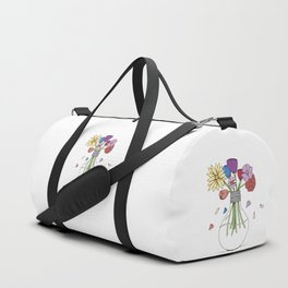 Cut Flowers Duffle Bag