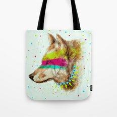 Cherokee Wolf II Tote Bag