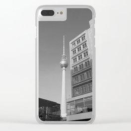 Berlin Mitte Clear iPhone Case