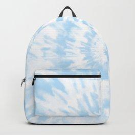 Lighter Ocean Blue Tie Dye Backpack