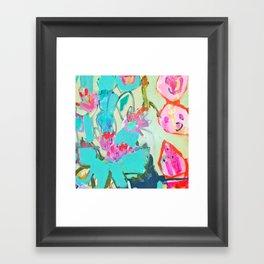 cacti1 Framed Art Print