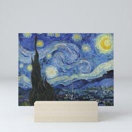 The Starry Night by Vincent van Gogh Mini Art Print