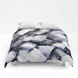 White and black Comforters