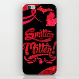 Smitten with the Mitten (Blue Version) iPhone Skin