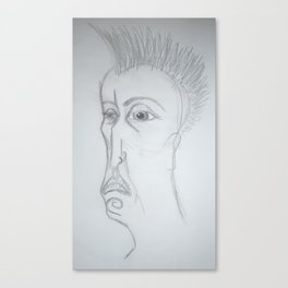 80's Punk Canvas Print
