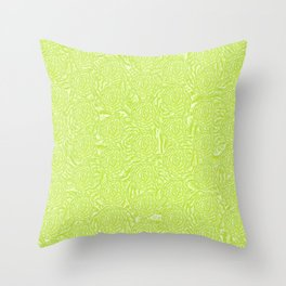 Bold Bunches Throw Pillow