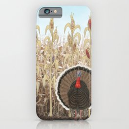 wild turkey & Indian corn iPhone Case