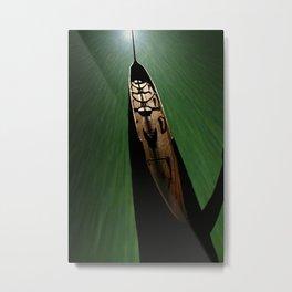 Bonito - green Metal Print