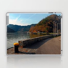 Sunny afternoon at the harbour | landscape photography Laptop & iPad Skin