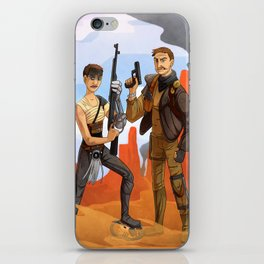 A Fury Road Warrior iPhone Skin