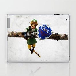 legend of zelda link snow figma Laptop & iPad Skin