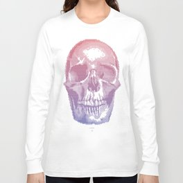 QUANTUM SKULL Long Sleeve T-shirt