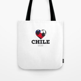 Chile Soccer Shirt 2016 Tote Bag