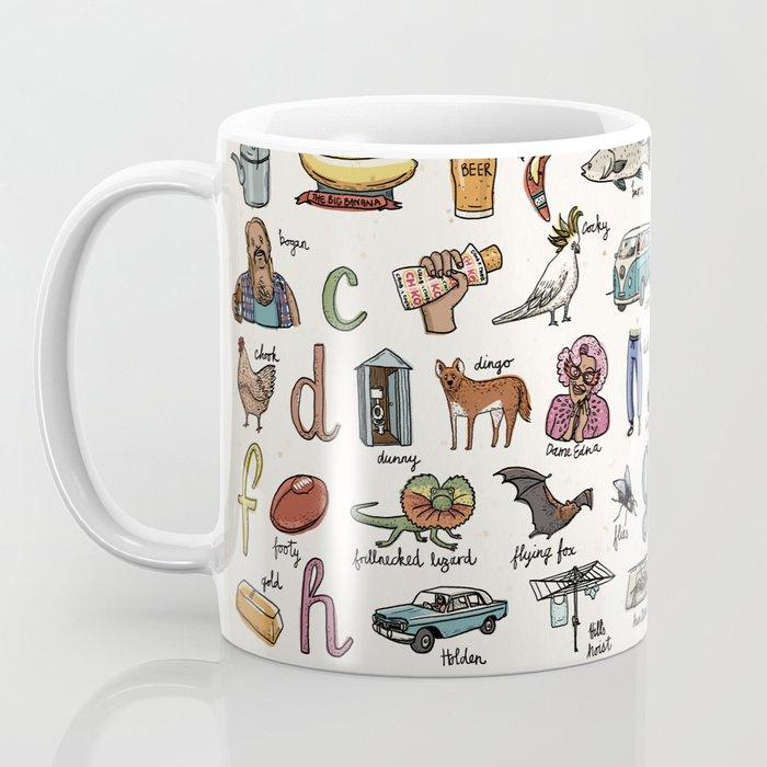 The Australian Alphabet Coffee Mug