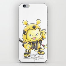 This Kid is Electrifying iPhone & iPod Skin