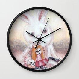 Ester and Bunny Wall Clock