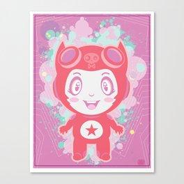 Bubbly! Canvas Print