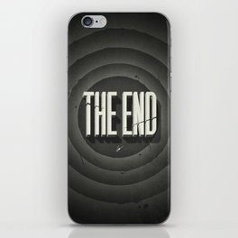 The End iPhone Skin
