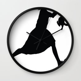 Don_t Run With Cats Wall Clock