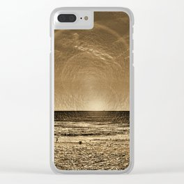 aspiciens ut Sol Temperat Clear iPhone Case