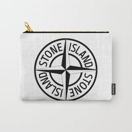 stone island logo Carry-All Pouch
