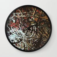 brussels Wall Clocks featuring Montana Shop, Brussels by Snerk One