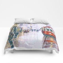 Istanbul Nostalgic Tramway Comforters