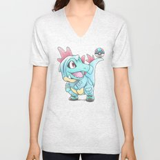 Caught in a DILEma Unisex V-Neck