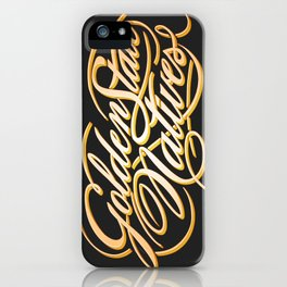 Golden State Natives iPhone Case