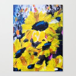 Happiness Canvas Print